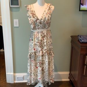 Beautiful floral dress for summer from Nordstrom
